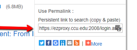 Image of permalink location