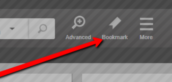 Image of bookmark location in GALE